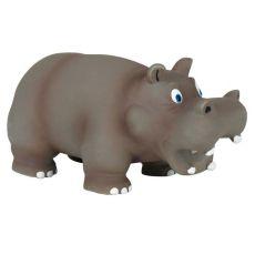 Hundespielzeug aus Latex - Nilpferd, 17 cm