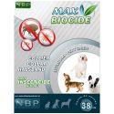 MAX BIOCIDE Antiparasit-Halsband für kleine Hunde - 38 cm
