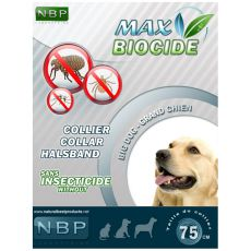 MAX BIOCIDE Antiparasit-Halsband für große Hunde - 75 cm