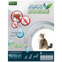 MAX BIOCIDE Antiparasiten-Tropfen für Katzen, 5 Stück