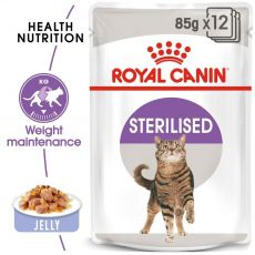 Royal Canin STERILISED in Jelly 12 x 85 g - Gelee in Beutel